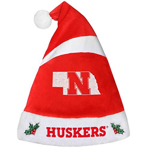 Nebraska Cornhuskers Basic Santa Hat-2016 ()