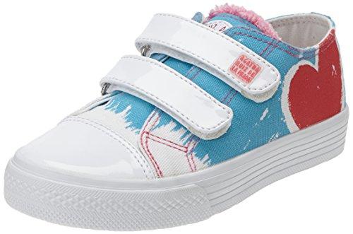 Agatha Ruiz de la Prada 152924, Low-Top Sneaker bambina, Blu (Blau (A-AZUL (PIQUE))), 30