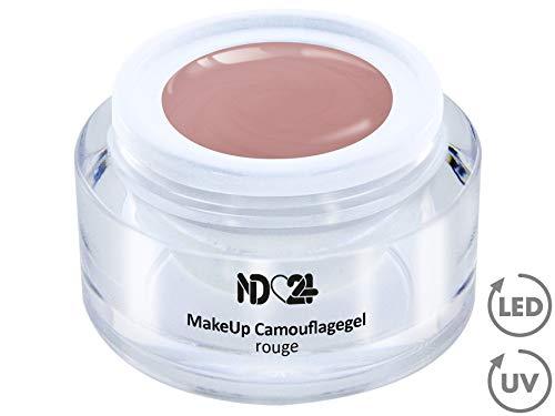 15ml - Make Up CAMOUFLAGE Aufbau - Gel rouge - nd24 BESTSELLER - BabyBoomer Naildesign UV/LED...
