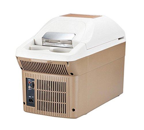 Halbleiter Kälte Heizung Armlehne Box Auto Dual-Use-Auto Kühlschrank , Brown,brown (Hochleistungs-heizung)