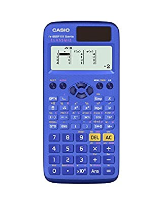 Casio fx-85spxii-bu-s-eh – Scientific Calculator, 13.8 x 77 x 165.5 mm, Blue