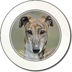 Windhund-Hunde 'Love You Mum' AutovignetteGenehmigungsinhaber Geschenk