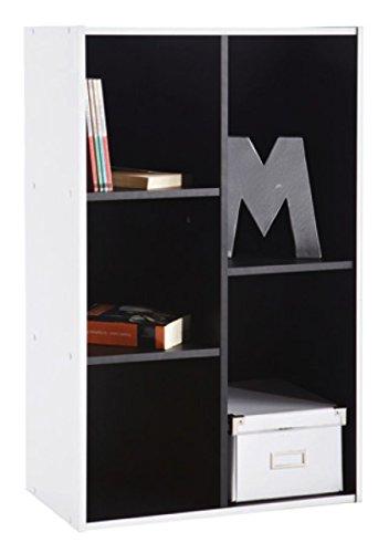 Abitti Estantería librería 5 Compartimentos. 50x80cm