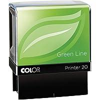 """COLOP Green Line - Sello automático con texto """"Scanned"""""""