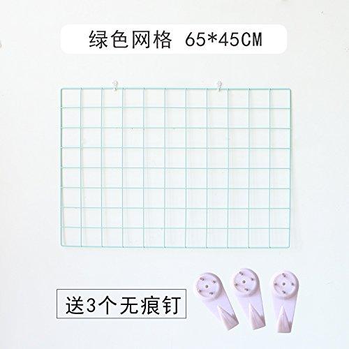 Griglia di ferro foto parete, il Green Grid 65*45cm