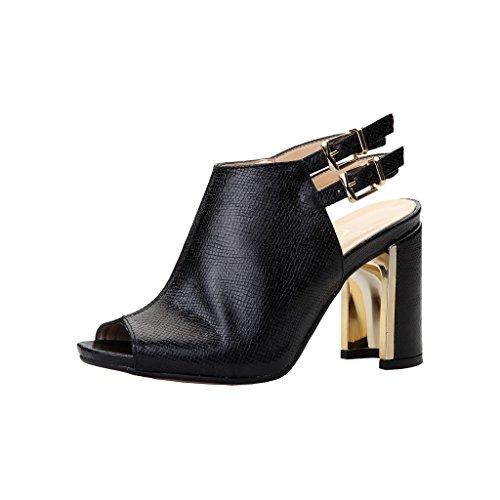 sandali scarpe V 1969 AMELIE_BLACK Nero Noir