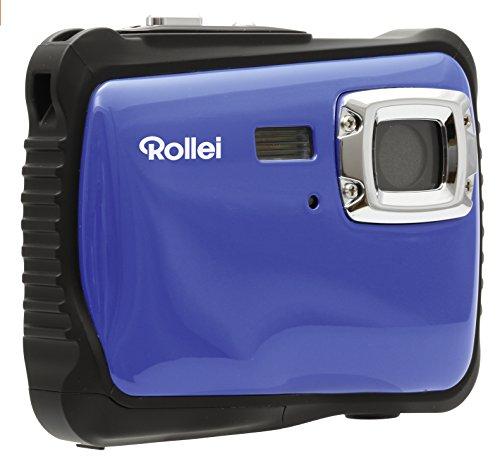 Galleria fotografica Rollei Sportsline 65 - Fotocamera Digitale, Sensore CMOS 5 Megapixel e funzione video HD 720p (1280 x 720 pixel), Impermeabile Fino a 3 m - Blu