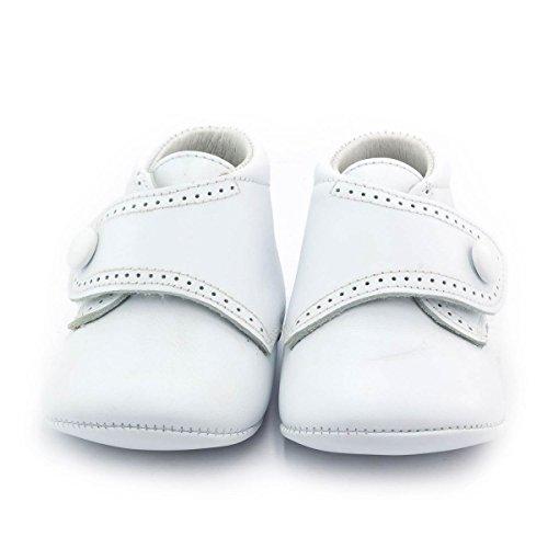 Boni Classic Shoes, Jungen Hausschuhe Weiß