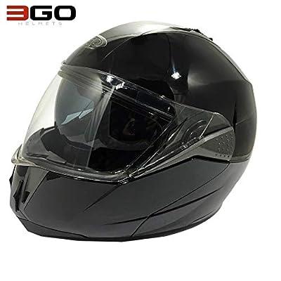 NEW ADULT MOTORBIKE 3GO E335 FLIP UP FRONT MODULAR HELMET Motorcycle Men Women Moped Scooter Crash Rider Sports Racing Touring ACU ECE Certified Full Face DVS Helmet from 3GO HELMETS