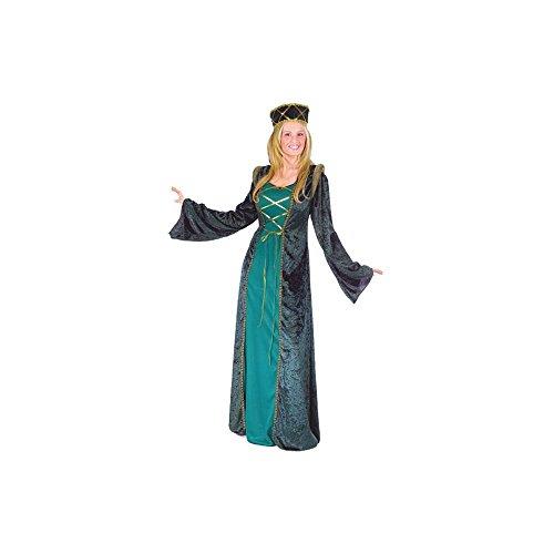 Hofdame, für Erwachsene/Kostüm, S, M (Für Erwachsene Hofdame Kostüm)