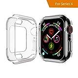 Seiaol Für Apple Watch 4 Schutzhülle 40mm, Weiche TPU Hülle für Apple Watch Series 4 [Transparent] Elastisch Ultimativ Schutz vor Stürzen und Stößen - Schutzhülle für Apple Watch Series 4(40mm) …