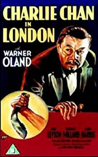 Charlie Chan in London by Warner Oland