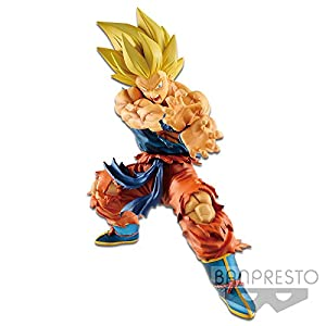 Banpresto-Son Goku Kamehameha Figura 17 cm Dragon Ball Dragonball Legends Collab, Color (BIDDB825134)