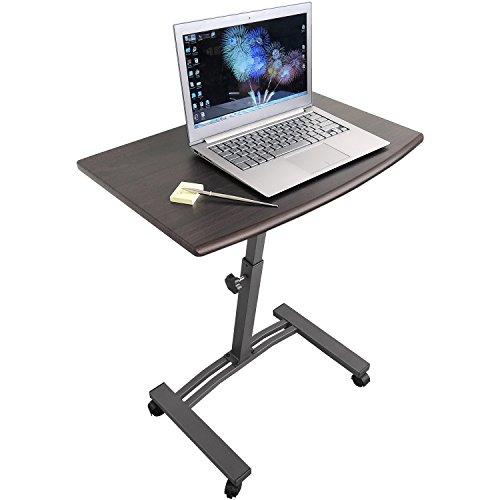 Tatkraft Salute Laptoptisch mit 4 Räder mit Anschlag MF Stahl