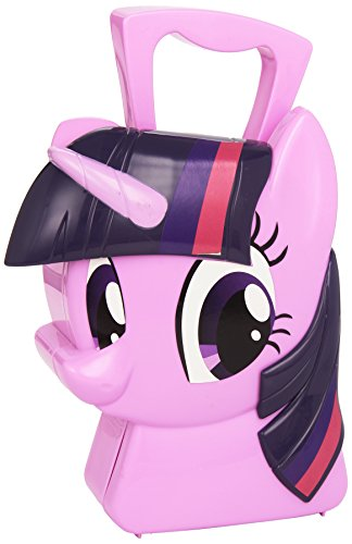My Little Pony Arcobaleno Potenza Twilight Sparkle Jewellery Caso (Inviato da UK)