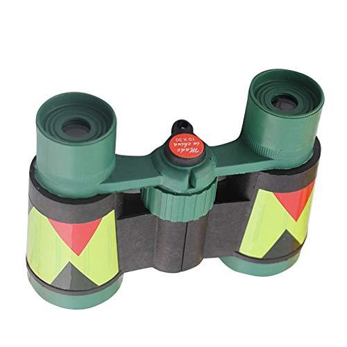 DIAMOEN Camuflaje Verde plástico 10x 30 Binocular