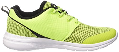 Champion Low Cut Shoe OX, Chaussures de course homme jaune fluo