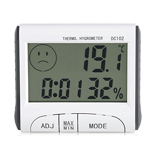 ygrometer Thermometer Multifunktionale Wetterstation Monitor Sensor Für Home Office Weinkeller (Indoor-office-thermometer)