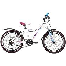 Bikesport FLY Bicicleta para niños, Tamaño de rueda: 20 ruedas Shimano 6 cambios