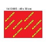 FOGLIO MALOSSI.FILTRE ARIA, FORMATO A3, 40 X 30 CM-DOUBLE RED SPONGE, SPESSORE 16 MM