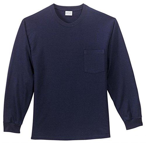 Port & Company -  T-shirt - Uomo Blu - blu navy