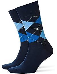 BURLINGTON Homme chaussettes King - 1 paire, du 40 au 50, multiples couleurs,  - Motif Argyle intemporel, idéal pour les looks décontractés, idéal au quotidien