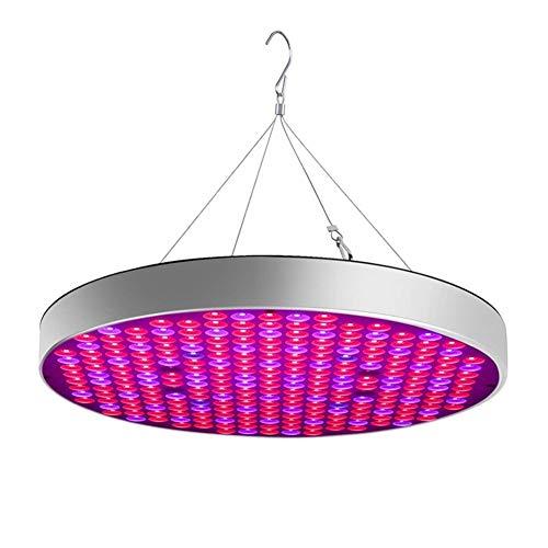 PIAOLING 50W LED Pflanzenwachstumslicht, UFO Indoor Pflanzenwachstumslampe Hydroponic Plant Suspension Kit Gartenbedarf (Wachsen Licht 250-watt-led)