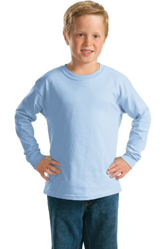 Gildan - Youth Ultra Cotton Long Sleeve T-Shirt. 2400B (Ultra Gildan Youth T-shirt Cotton)