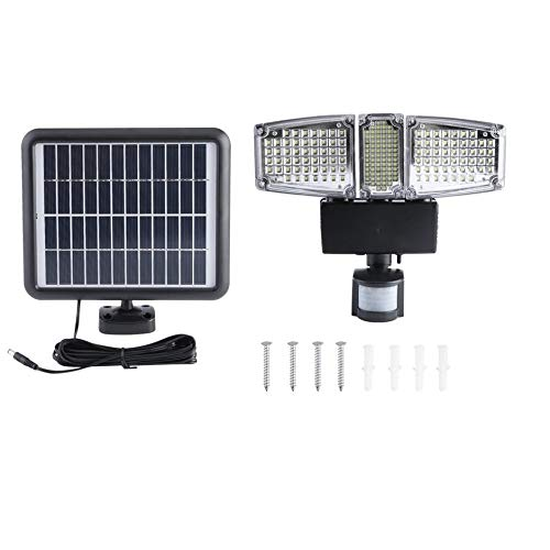 Objective 5pcs Remote Control Solar Panel Powered Road Light 20w 30w 50w Led Street Light Outdoor Garden Path Spot Wall Emergency Lamp Cool In Summer And Warm In Winter Outdoor Lighting