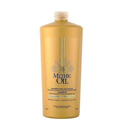 L'Oréal Professionnel Mythic Oil Shampoo normales oder feines Haar, 1000 ml