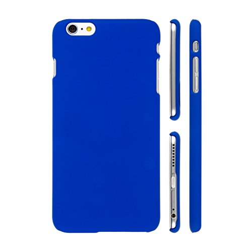 KraftLink Superior Quality Premium Smooth Finish Rubberised Matte Protective Shell Polycarbonate Hard Plastic Velvet Touch Back Case Cover For Vivo Y55L - Royal Blue
