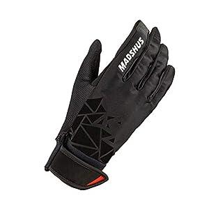 Madshus PRO Thermo Glove - Guanti Termici da Sci di Fondo per Adulti, Taglia: 8-18D4201.1.1.1.1.1.1.8, Colore: Nero, 8