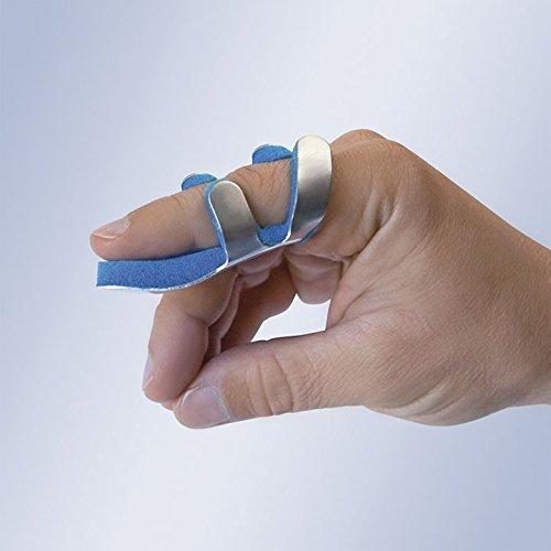 Frosch Schienen (Solace Care Advance Ultra Komfort Kröte Fingerschiene, Stabilisieren Mallet Finger Frosch-aus Aluminium Schiene-Dip Schmerzen Support Fraktur-formbare Gelenk Unterstützung Bandage-interphalangealgelenk Schmerzen (Unisex))