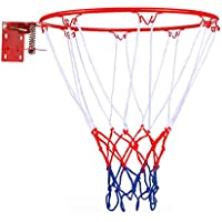 HangRing Basketball Hoop Official Size Heavy Duty Basketball Hoop Ring and Net; Quality and Safety Checked