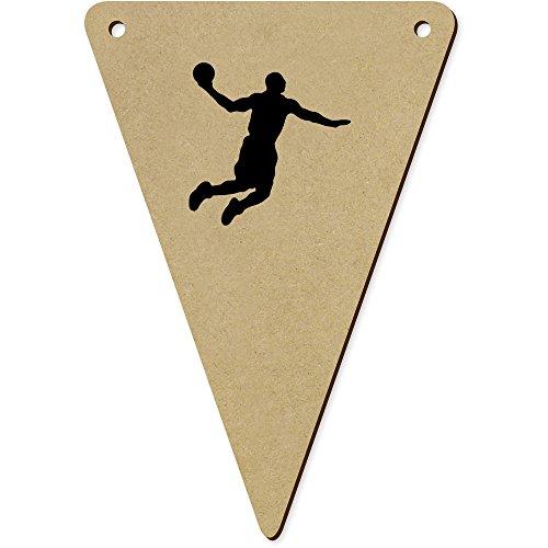 l-Spieler' Wimpel / Banner aus Holz (BN00049661) (Basketball-banner)