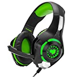 Cosmic Byte GS420 Headphones with Mic, RGB LED lights and Audio Splitter