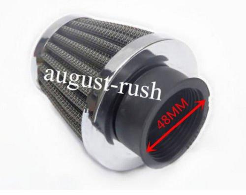 Rouge coud/é 38/mm Pit Dirt bike double mousse Pod Performance Filtre /à air 90/cc 110/cc 125/cc 4/temps v/élos