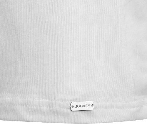 Jockey® Herren, Modern Stretch T-Shirt, kurzarm, 22451812 Weiß