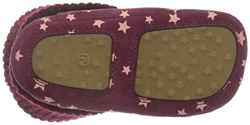 Bellybutton - Krabbelschuh, Scarpine e pantofole primi passi Bimba 0-24 Rosa (Pink (Bacca))