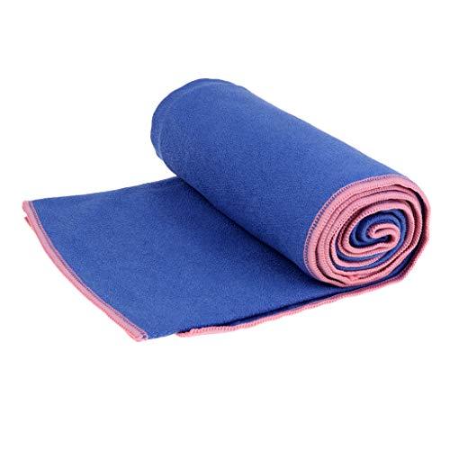 Baoblaze Antirutsch Yoga Handtuch Yogatuch Fitness Tuch 61x183cm für Pilates Gymnastikmatte Yogamatte Fitnessmatte