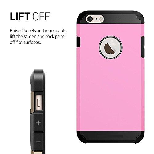 Armor Dura Protezione Estrema Custodia [TPU Shock-Absorption] Cover Case per Iphone 5c Nero [Ultra-Sottile, Robusto & Rigido] Facil&co® Rosa