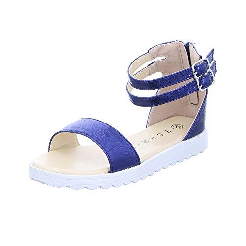 Esprit Kinder Mädchen Sandalette Mela Met Blau