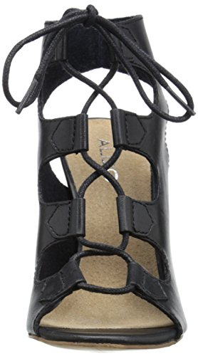 Aldo Janne Kleid Sandale Black Leather