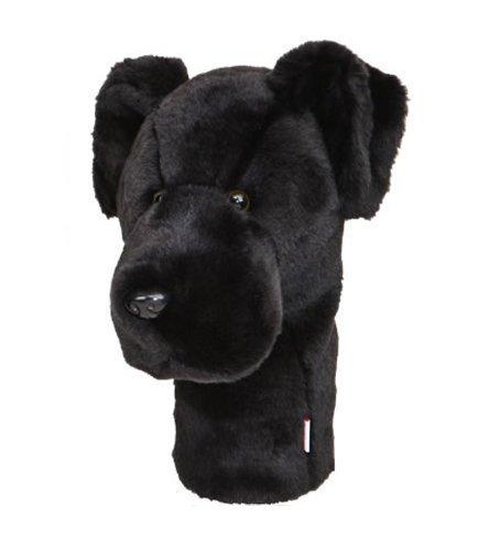 Daphne\'s Schwarzer Labrador Neuheit Golf Schläger Schlägerhaube für Driver, 1 holz 460cc übergroßer Kopf