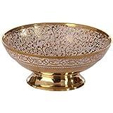ETrendz Decorated Brass Serving Bowls With Beautiful Nakshi Meenakari Engravings Work