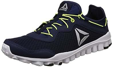 Reebok Men's One Rush Flex Multicolor Running Shoes-10 UK/India (44.5 EU)(11 US) (CN5991)