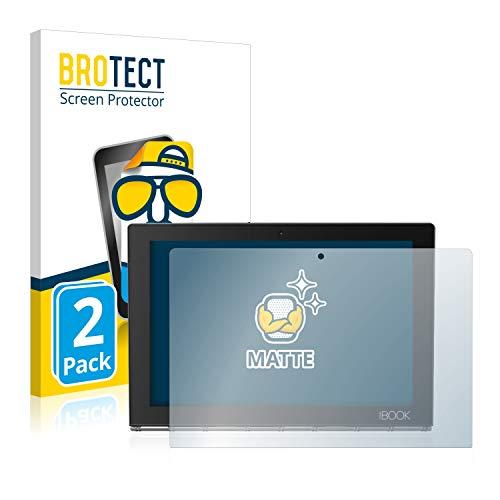 BROTECT Schutzfolie Matt kompatibel mit Lenovo Yoga Book [2er Pack] - Anti-Reflex