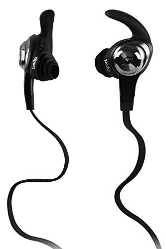 Preisvergleich Produktbild Monster iSport Strive InEar Sport-Kopfhörer mit ControlTalk Universal (Schweißresistent und Waschbar) schwarz
