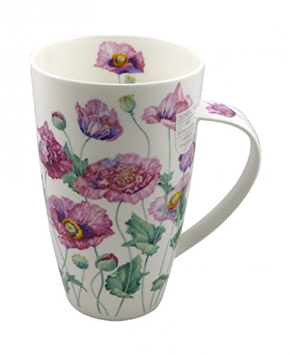 Dunoon Tasse Henley Poppies by Anne Searle altrosa 600ml -