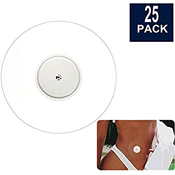 BaBallet 25-Pack Freestyle Libre CGM Patches, Pre Cut Clear